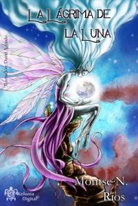 La Lágrima de Luna - Portada de David Agundo