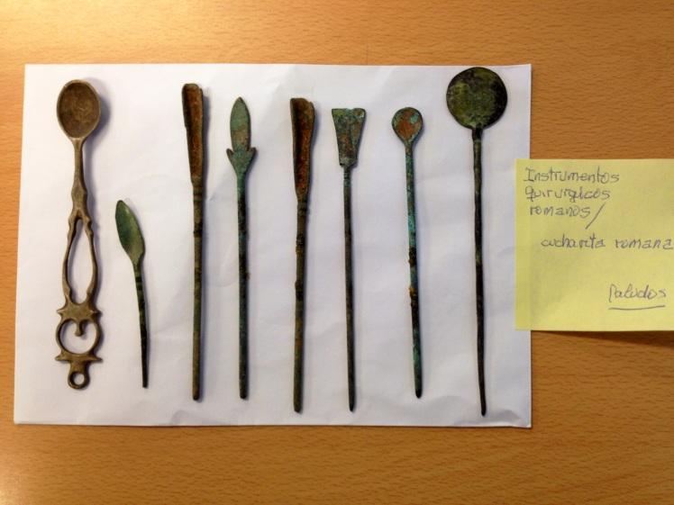 Instrumentos quirúrgicos romanos